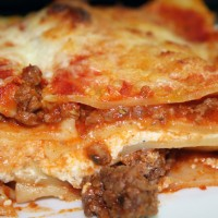 Weekday Lasagna Bolognese  Angela Gunder