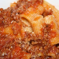 Oven Bolognese with Locatelli  Photo by Angela Gunder