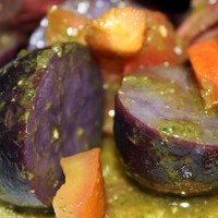 Purple Potatoes Vinaigrette