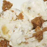 Apple Crumble Ice Cream  Photo by Angela Gunder
