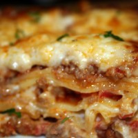Classic Lasagne Bolognese