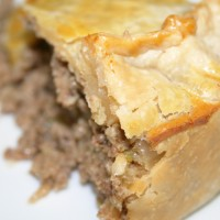Savory Meat Pie © Photo by Angela Gunder