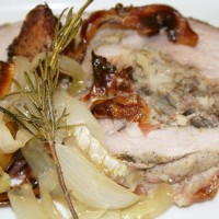 Porchetta with Wild Boar Stuffing