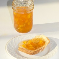 Peach Bellini Jam