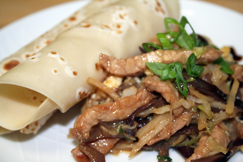 Moo Shu Pork with Homemade Pancakes - Spice or Die