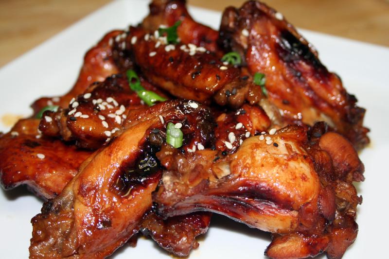 Kona Coffee Glazed Chicken Wings - Spice or Die