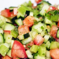 Israeli Cucumber Salad